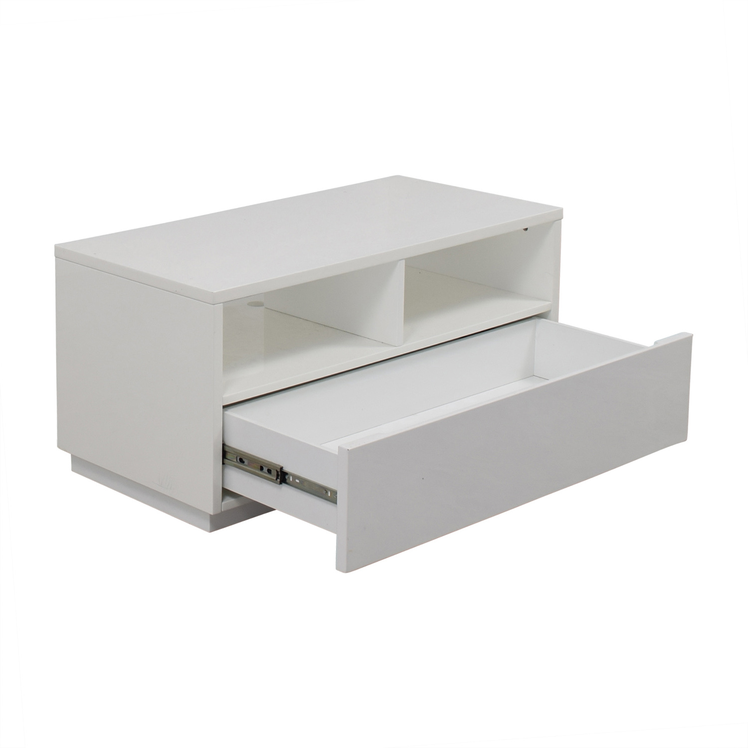 Cb2 Cb2 Chill White Media Console White