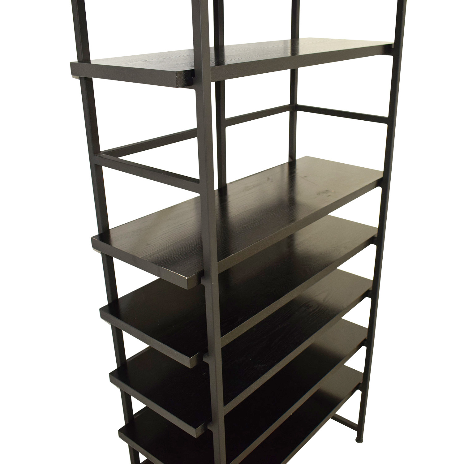 The Container Store The Container Store Black Shelf Bookcases & Shelving