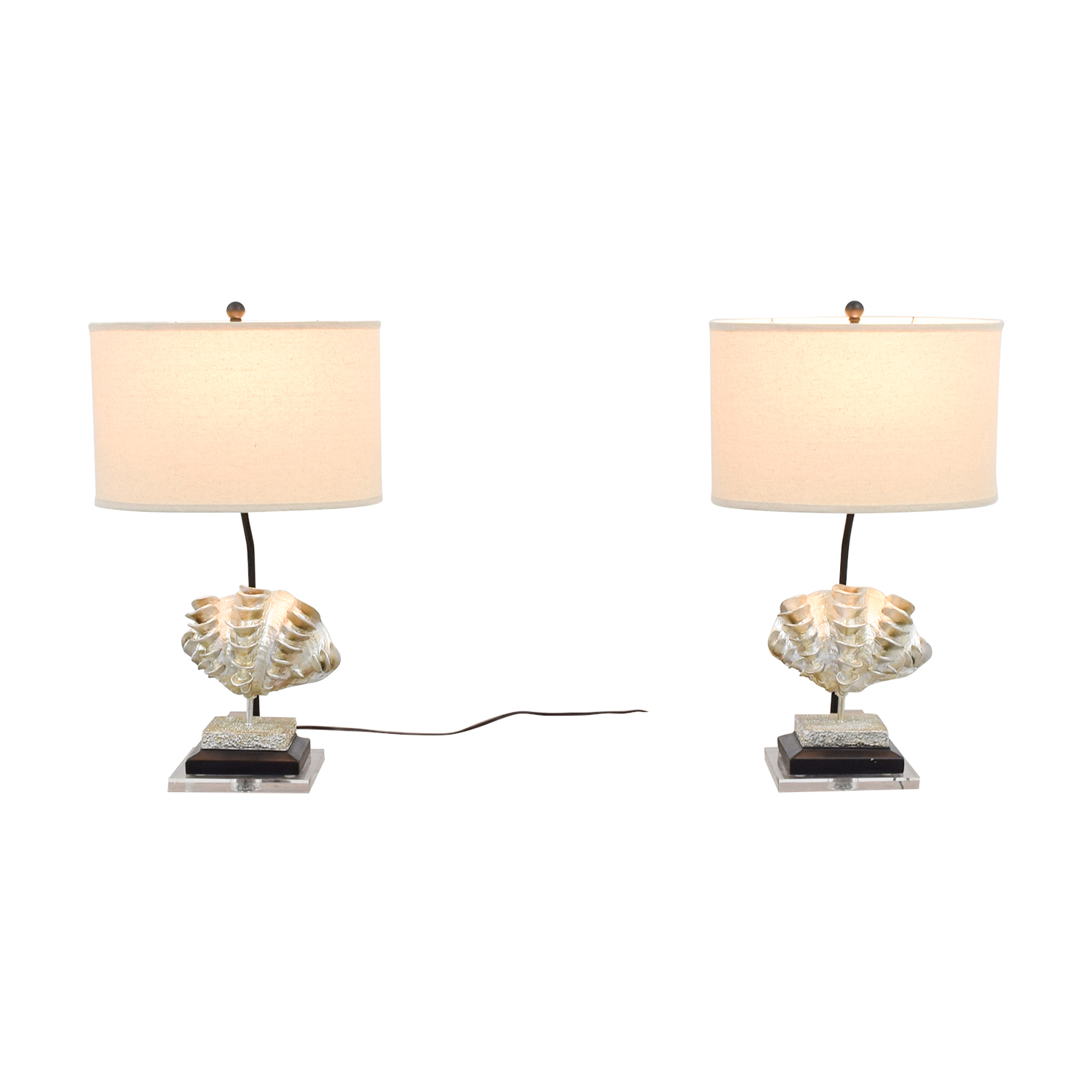 Safavieh Safavieh Shell Table Lamps for sale