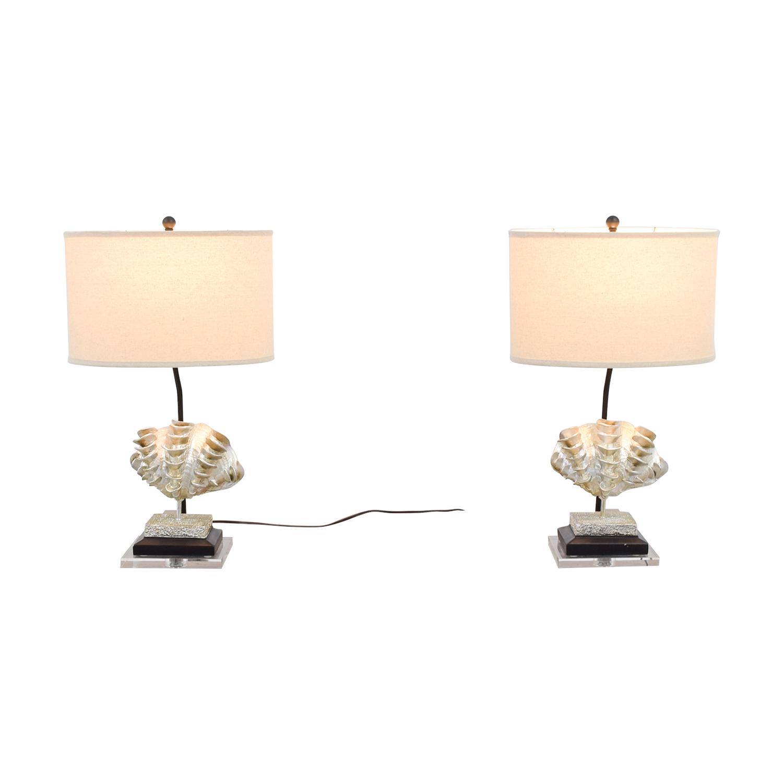 Safavieh Safavieh Shell Table Lamps second hand