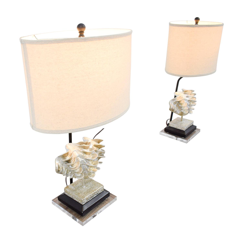 buy Safavieh Shell Table Lamps Safavieh