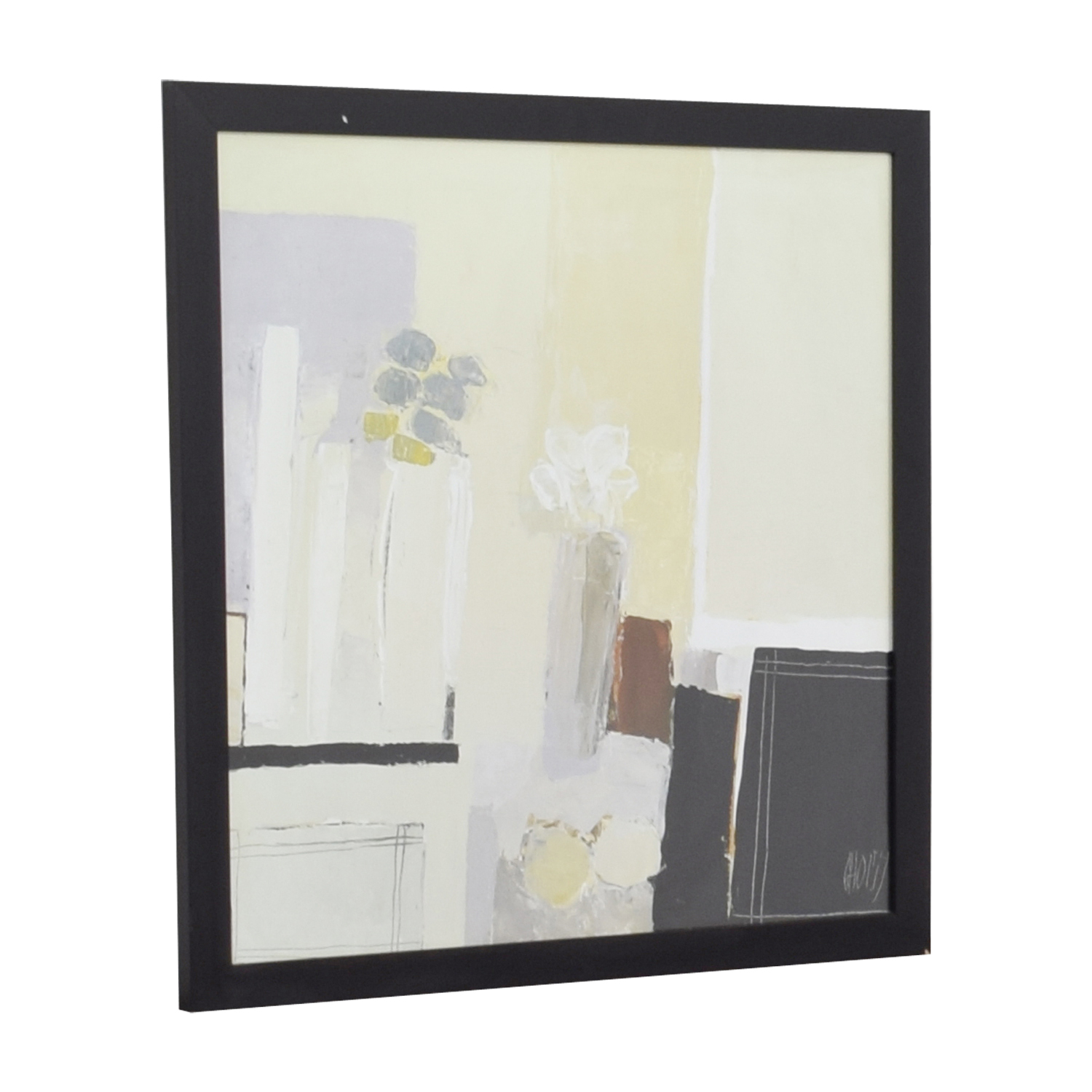 shop Christian Choisy Arrangement of Two Bouquets Contemporary Framed Print  Wall Art
