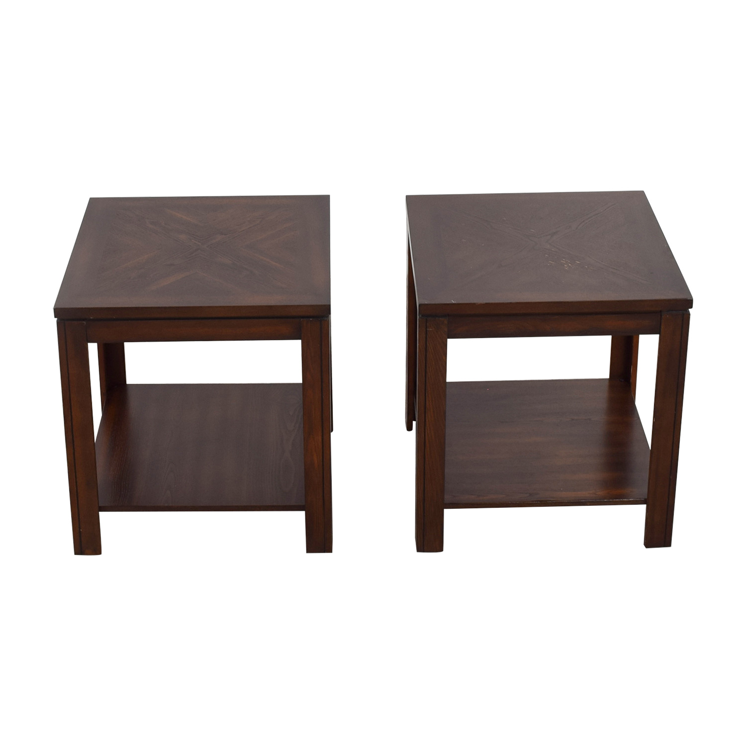 Bob's Furniture Lower Shelf End Tables / End Tables