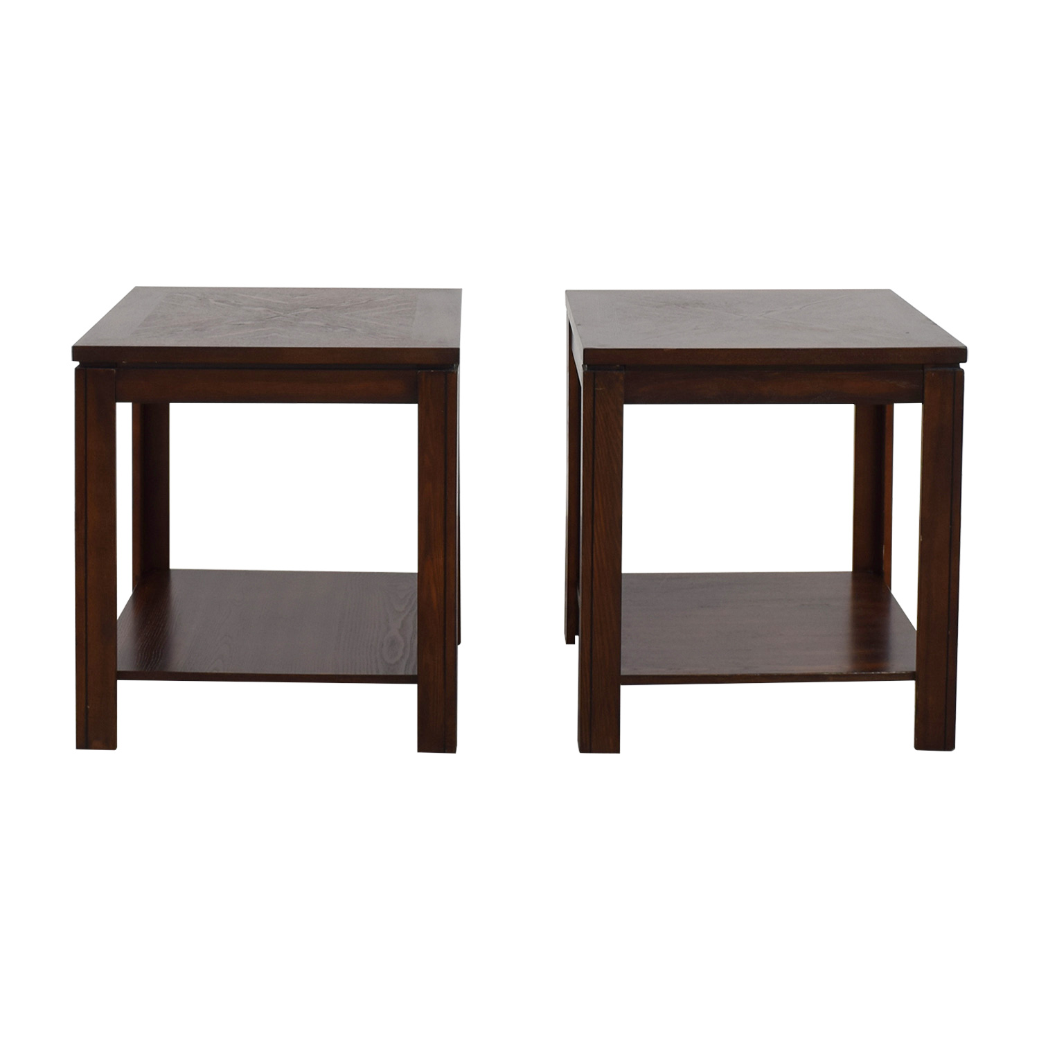 90 Off Bob S Furniture Lower Shelf End Tables