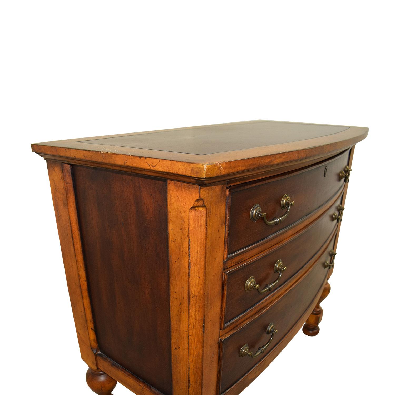 Macy's Macy's Two Toned Cherry Three-Drawer Wood Dresser Dressers