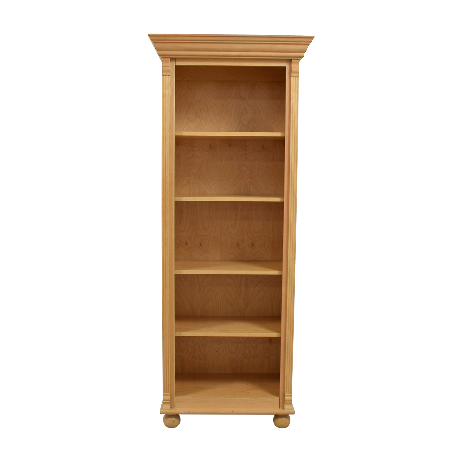 Bellini Bellini Natural Wood Bookcase Bookcases & Shelving