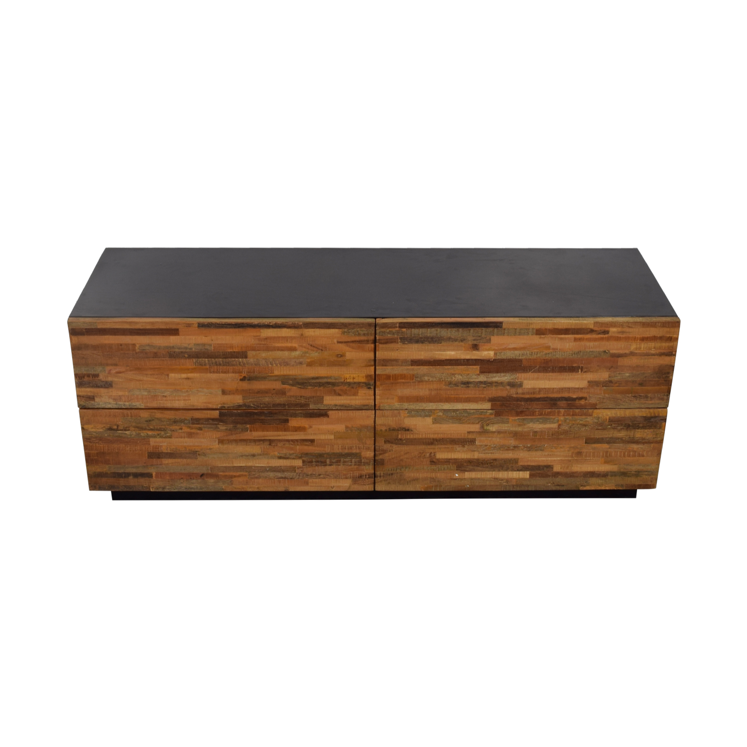 Restoration Hardware Restoration Hardware Rustic Wood Four-Drawer Low Dresser coupon