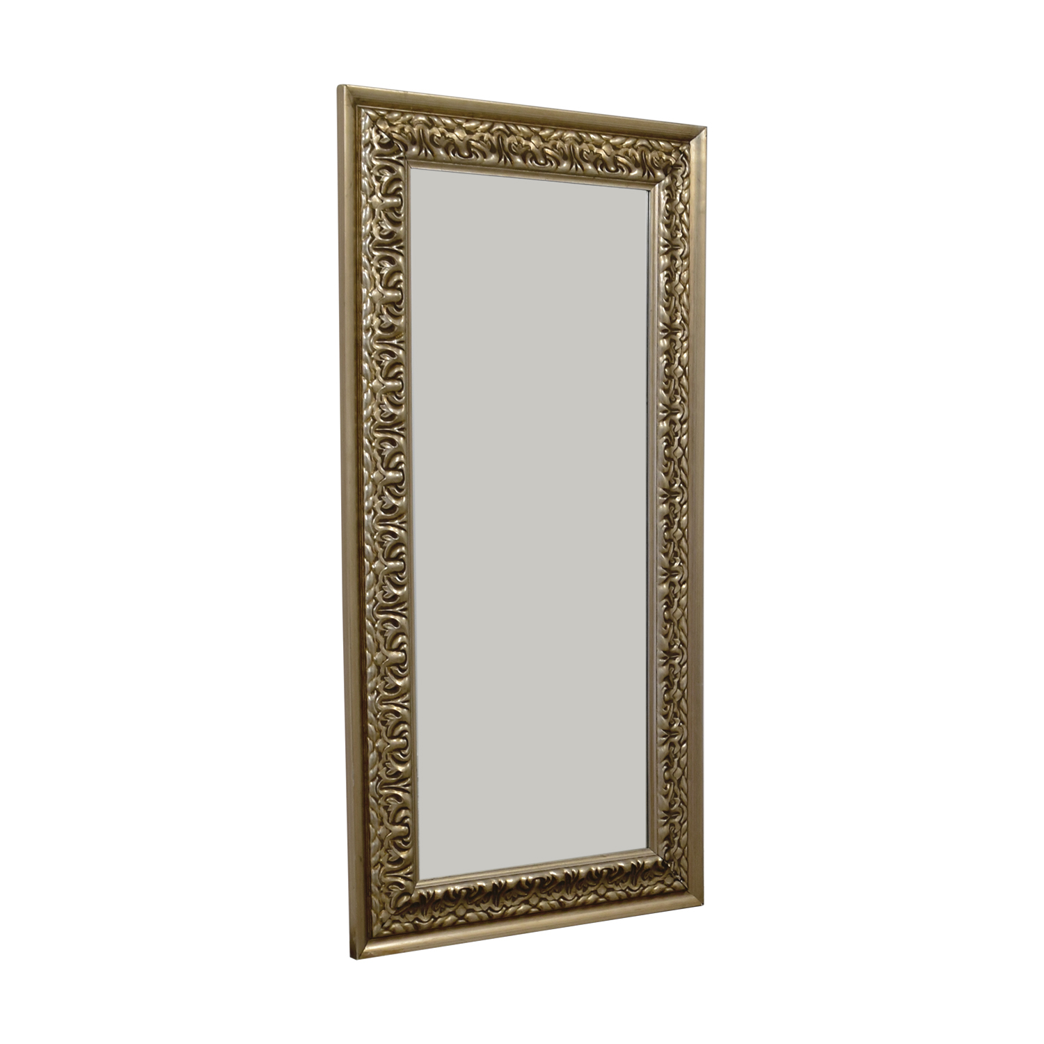 Gold Carved Frame Floor Mirror used