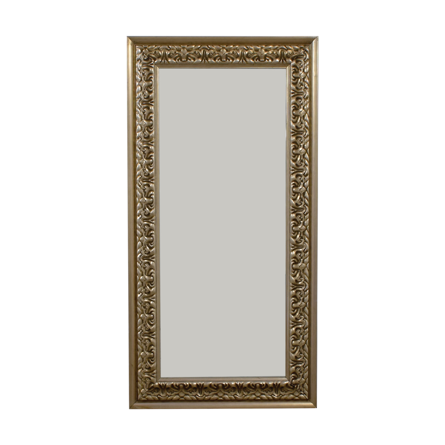 buy Gold Carved Frame Floor Mirror  Mirrors