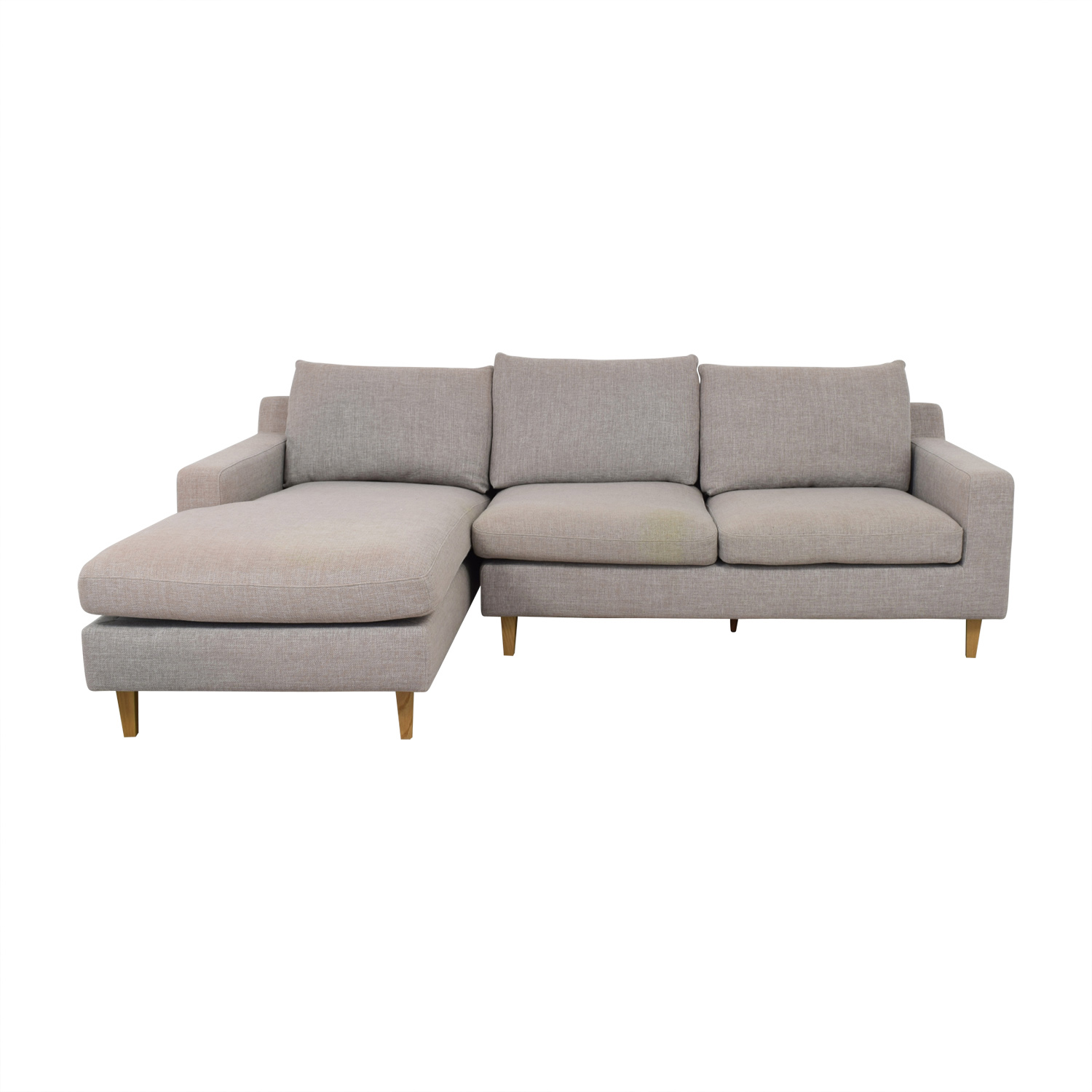 buy  Sloan Grey Chaise Sectional online