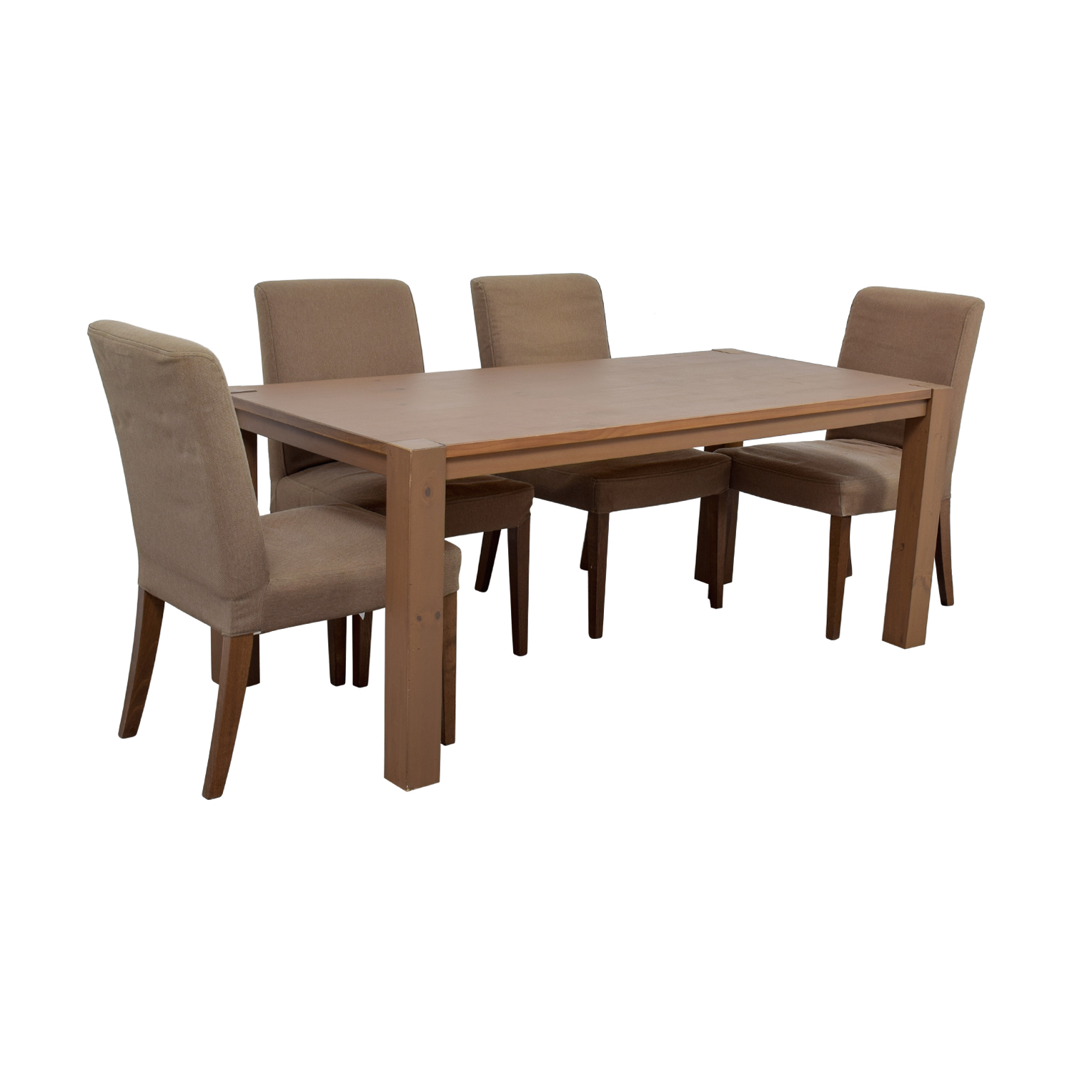 85 Off Ikea Dining Table Set With Henriksdal Chairs Tables