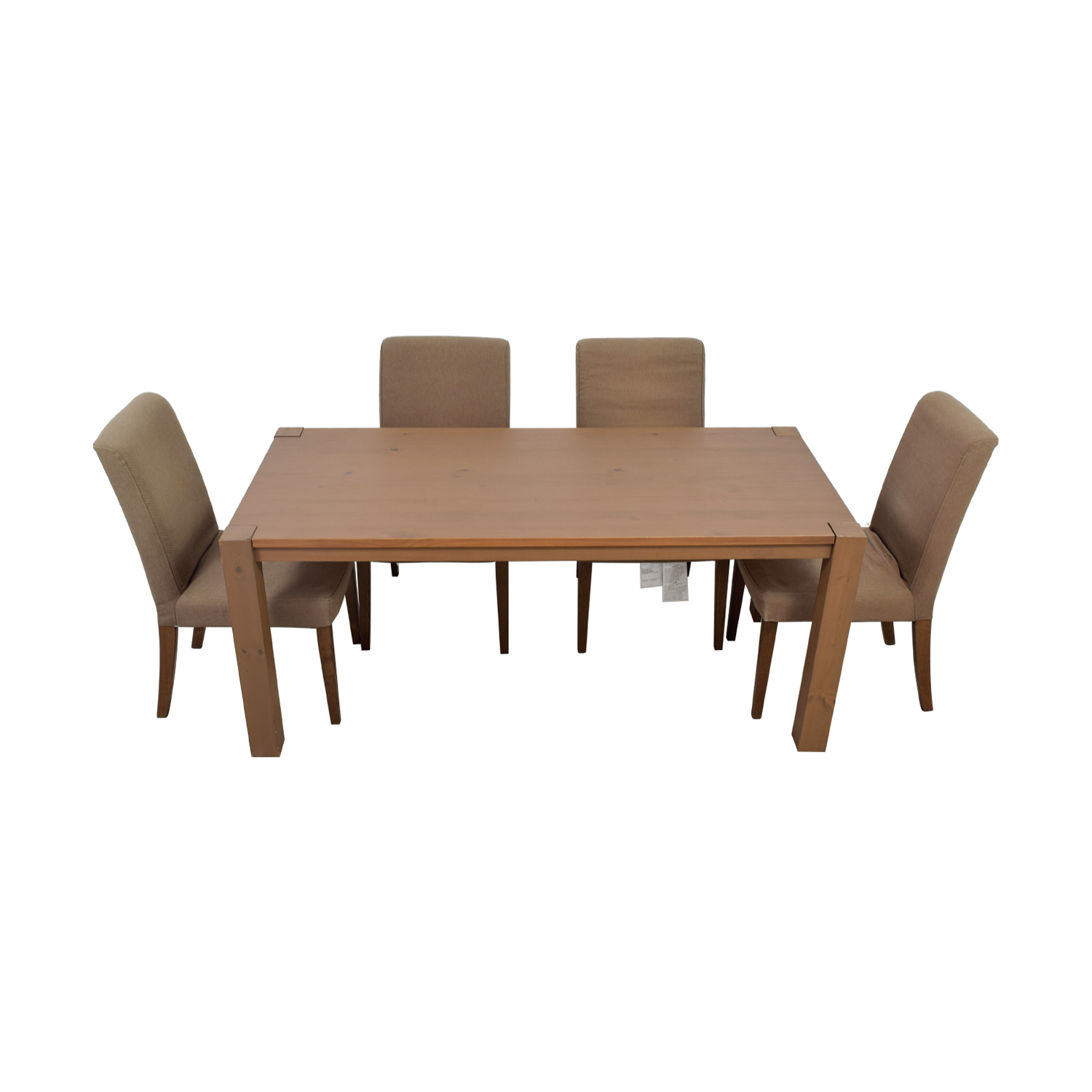 IKEA Dining Table Set with Henriksdal Chairs sale