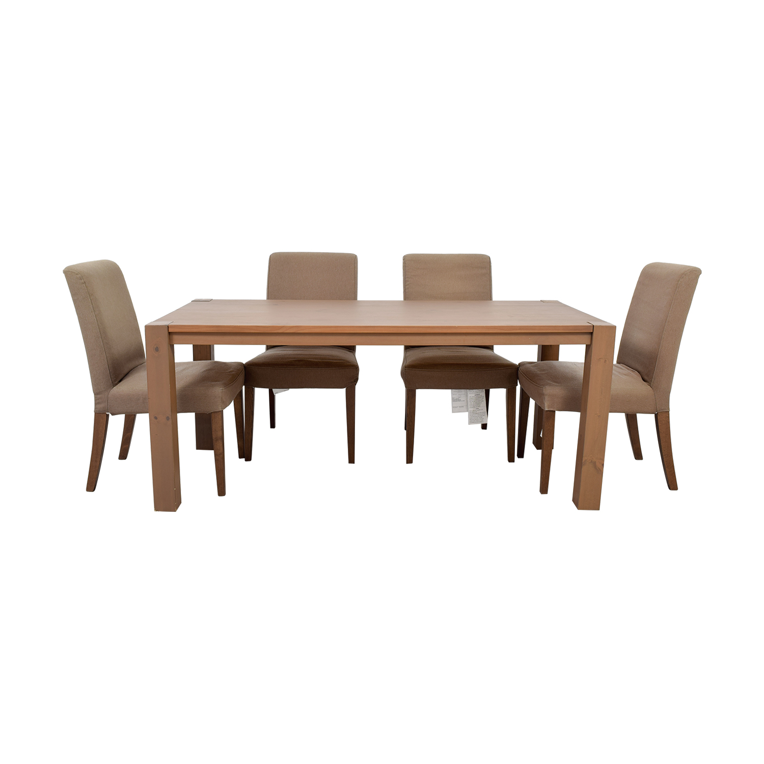 IKEA IKEA Dining Table Set with Henriksdal Chairs nj