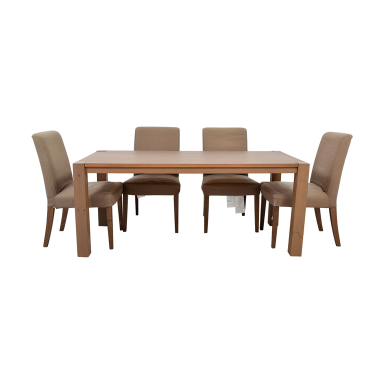 IKEA IKEA Dining Table Set with Henriksdal Chairs used