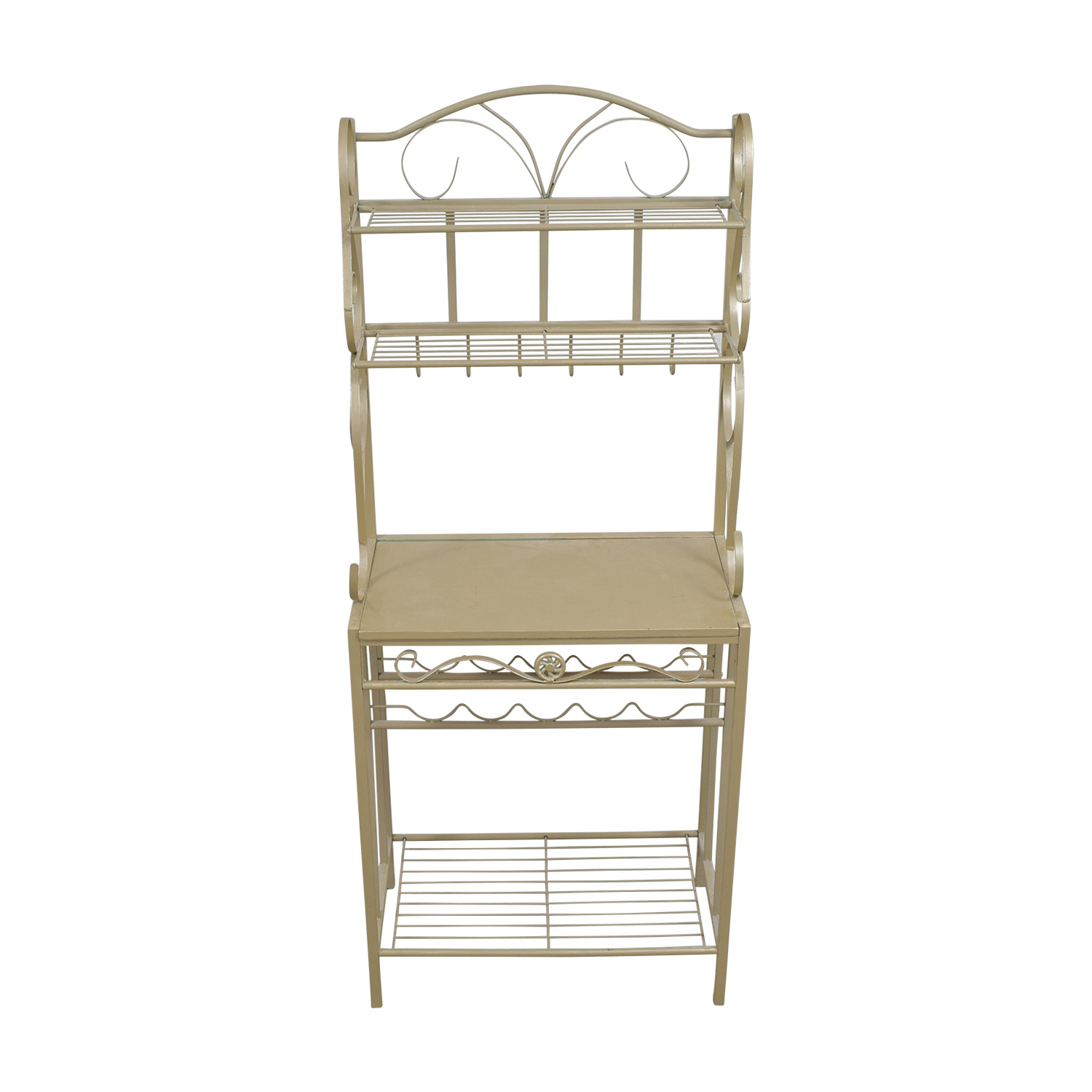 Gold Bakers Rack on sale