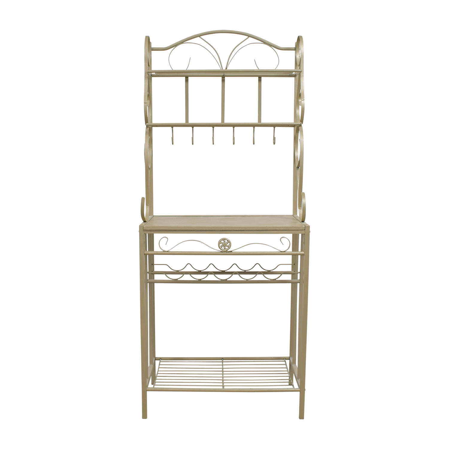 Gold Bakers Rack discount
