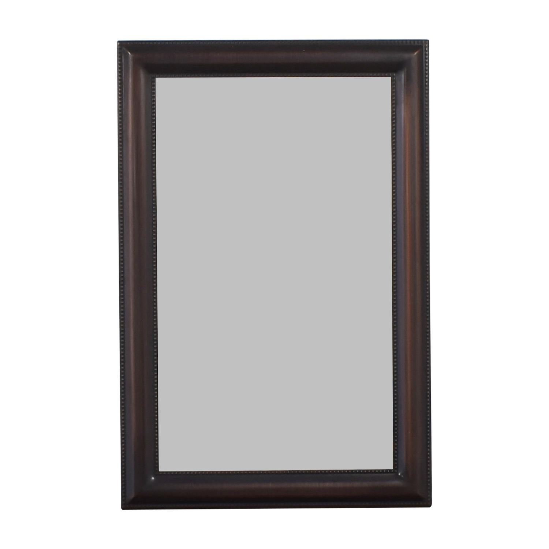 Bronze Framed Wall Mirror dimensions
