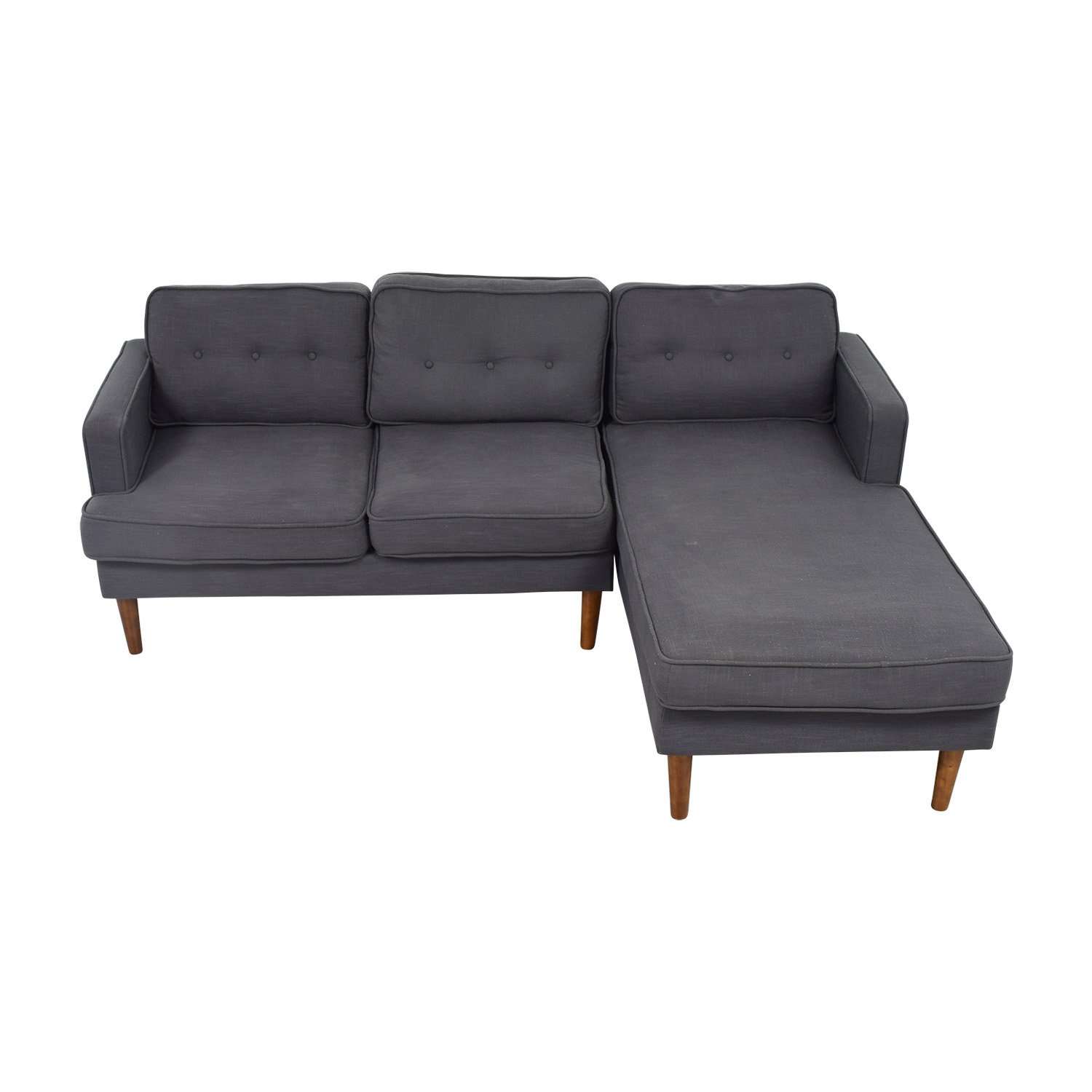 Langley Street Langley Street Gray Monterey Sectional on sale