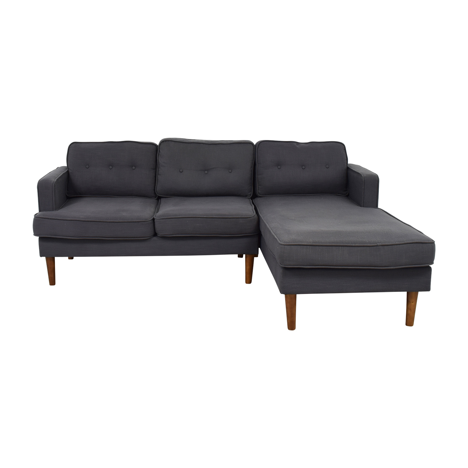 buy Langley Street Gray Monterey Sectional Langley Street Sofas