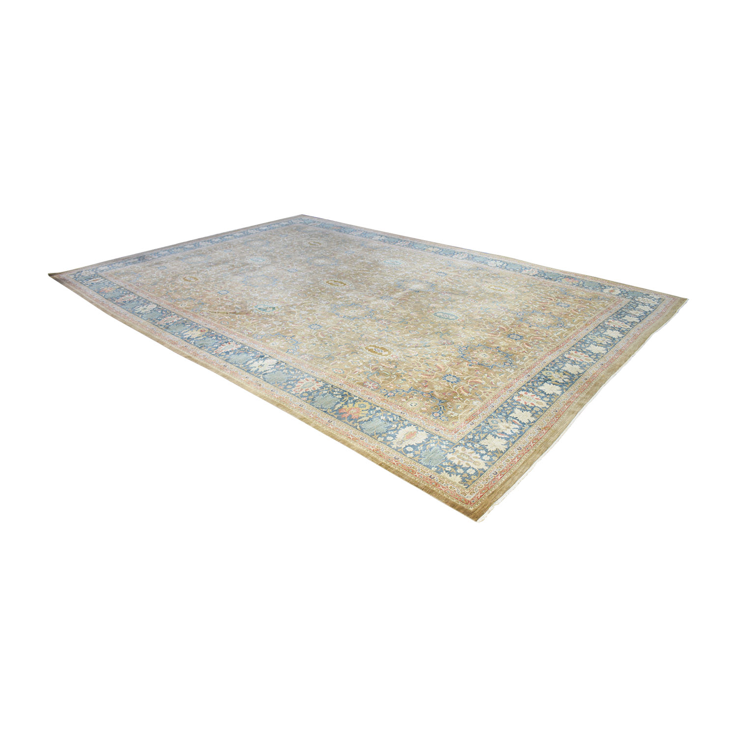 Marc Phillips Marc Phillips Cocoa New Zealand Wool Rug Rugs