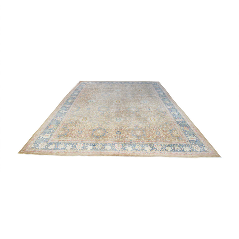 shop Marc Phillips Marc Phillips Cocoa New Zealand Wool Rug online