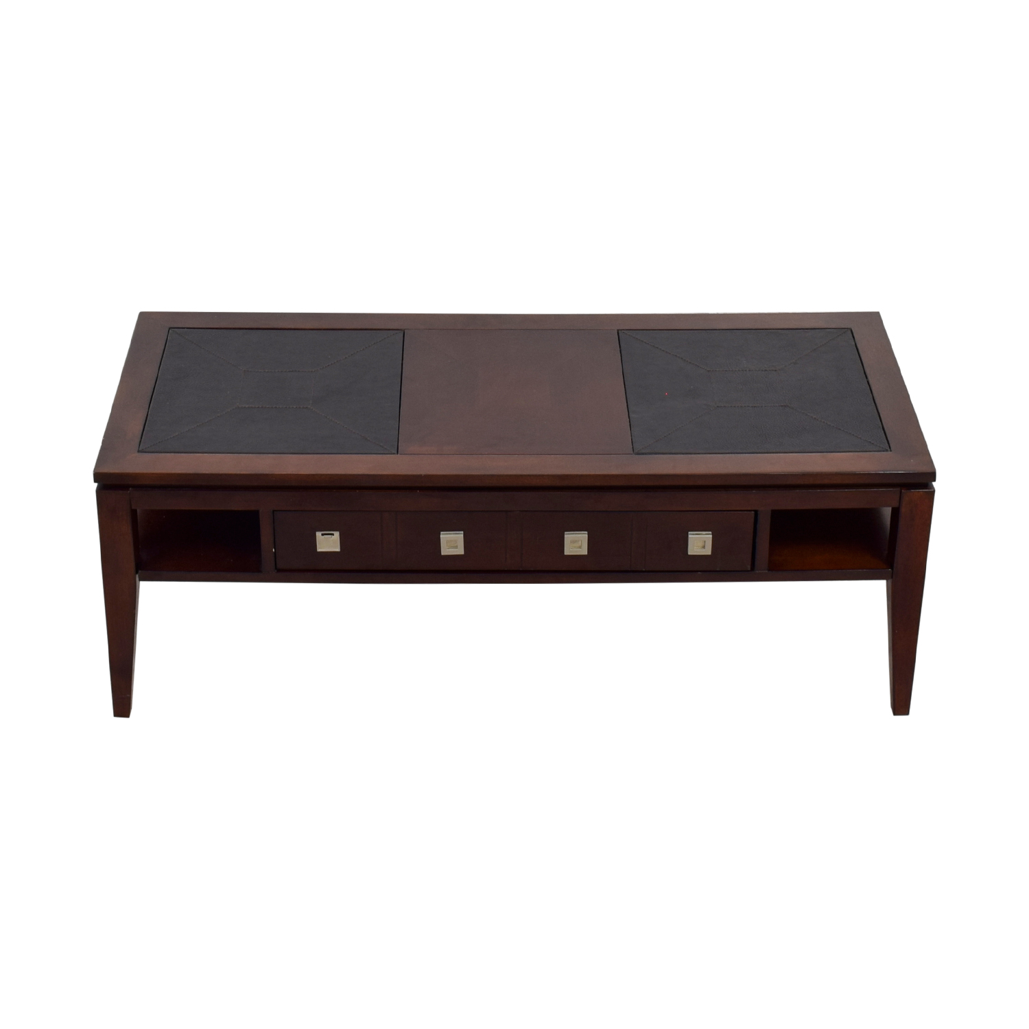 Raymour & Flanigan Raymour & Flanigan Single-Drawer Coffee Table for sale