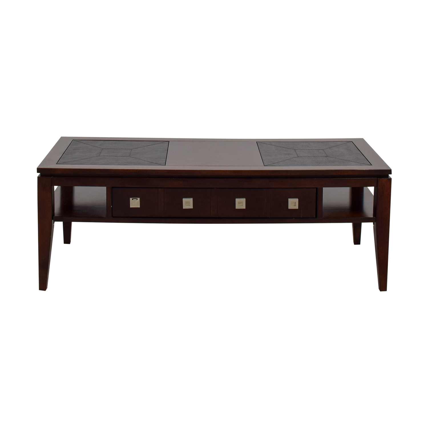 55 Off Raymour Flanigan Single Drawer Coffee Table Tables