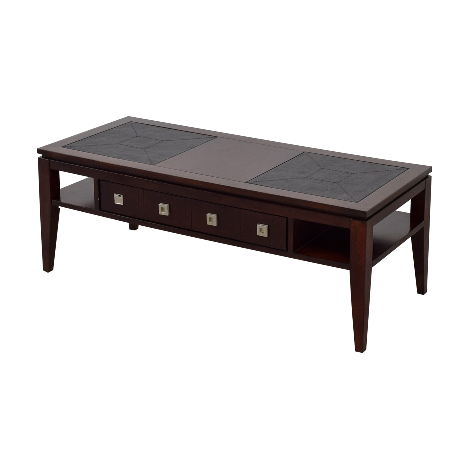 Buy Raymour & Flanigan Single Drawer Coffee Table Raymour & Flanigan