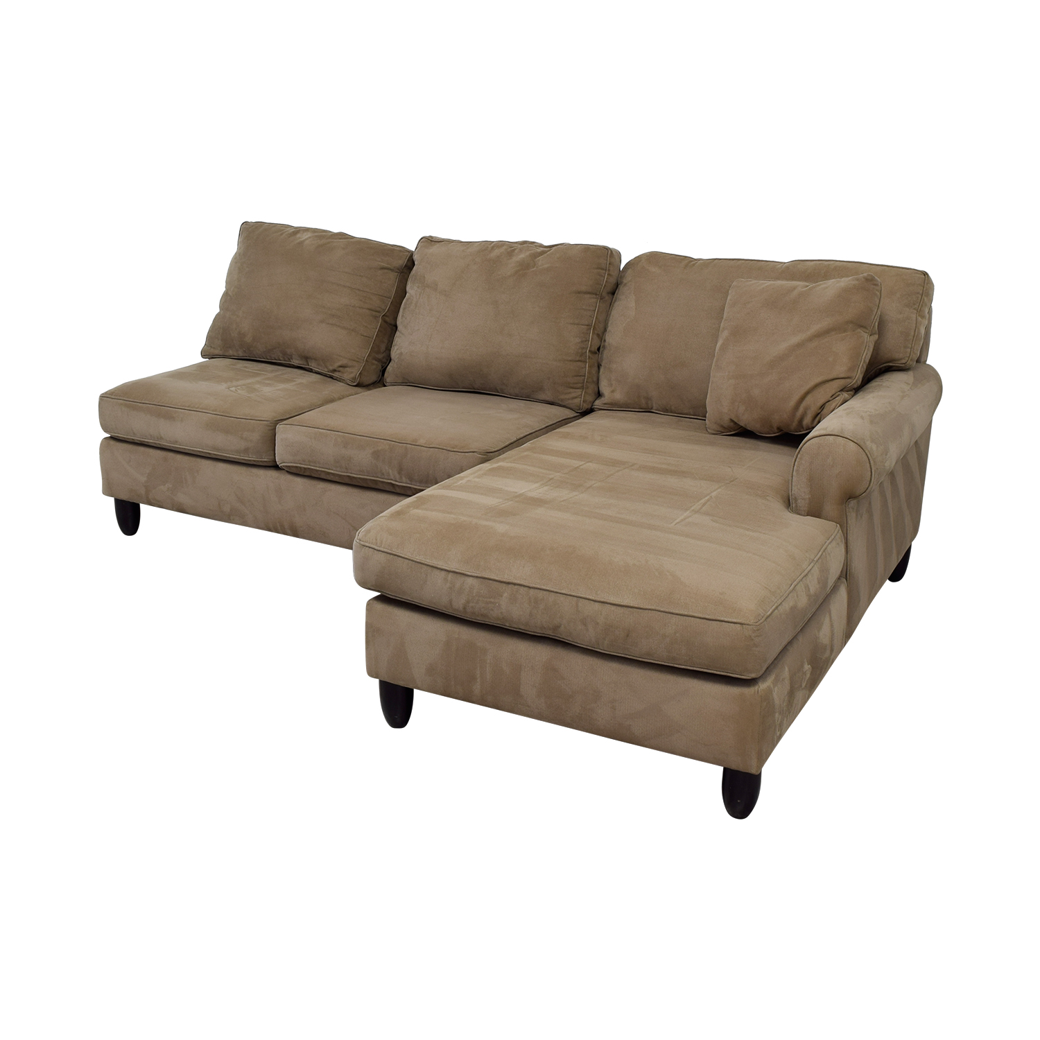 Peachy 90 Off Havertys Havertys Tan Chaise Sectional Sofas Pdpeps Interior Chair Design Pdpepsorg