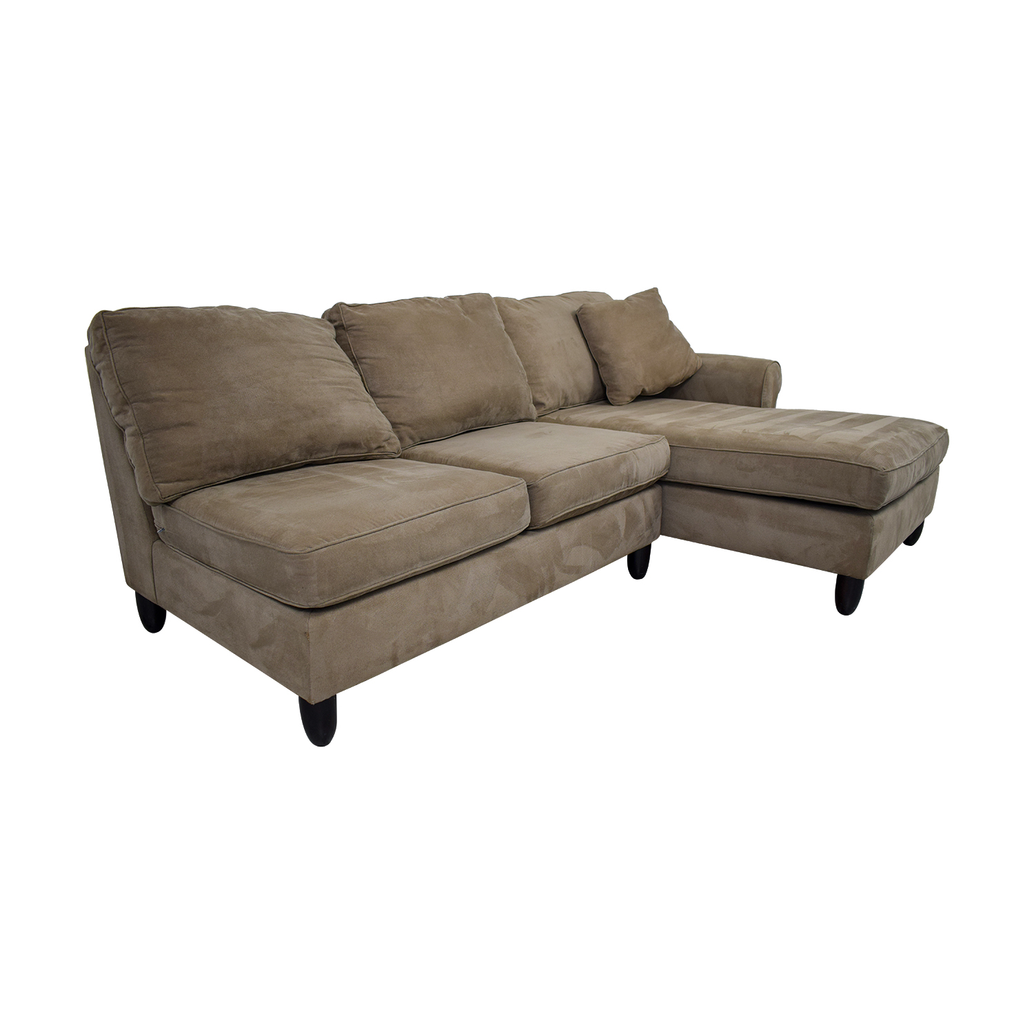 Brilliant 90 Off Havertys Havertys Tan Chaise Sectional Sofas Pdpeps Interior Chair Design Pdpepsorg