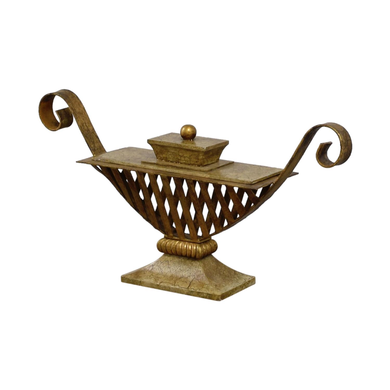 Vintage Bronze Vase for sale