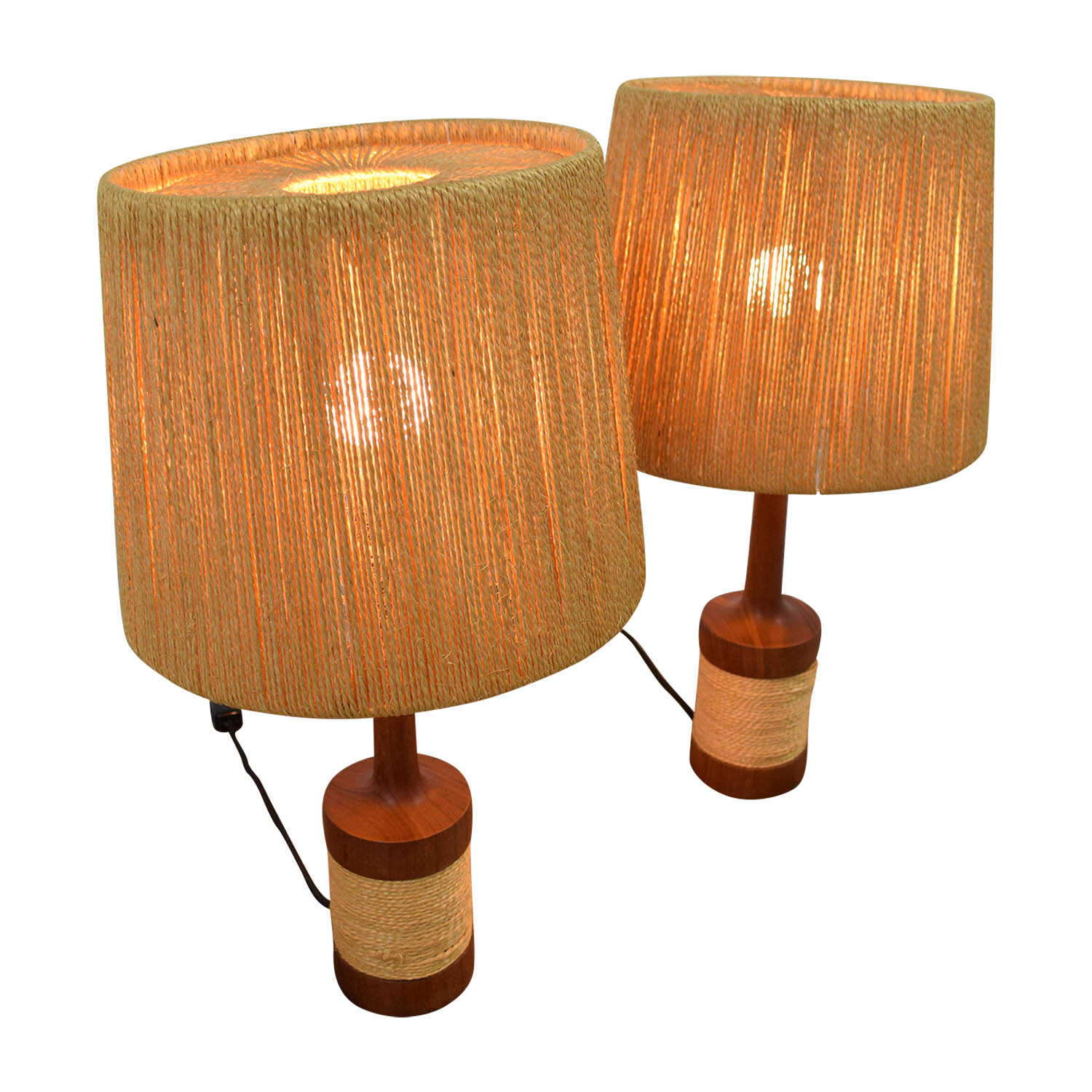 buy  Sisal and Wood Table Lamps online