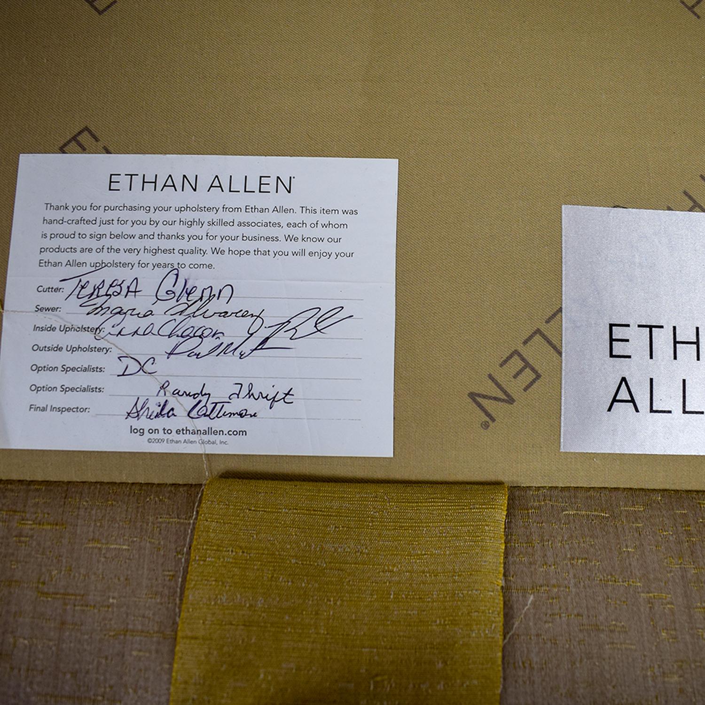 shop Ethan Allen Ethan Allen Custom Rose Gold Upholstered Slipper Chair online