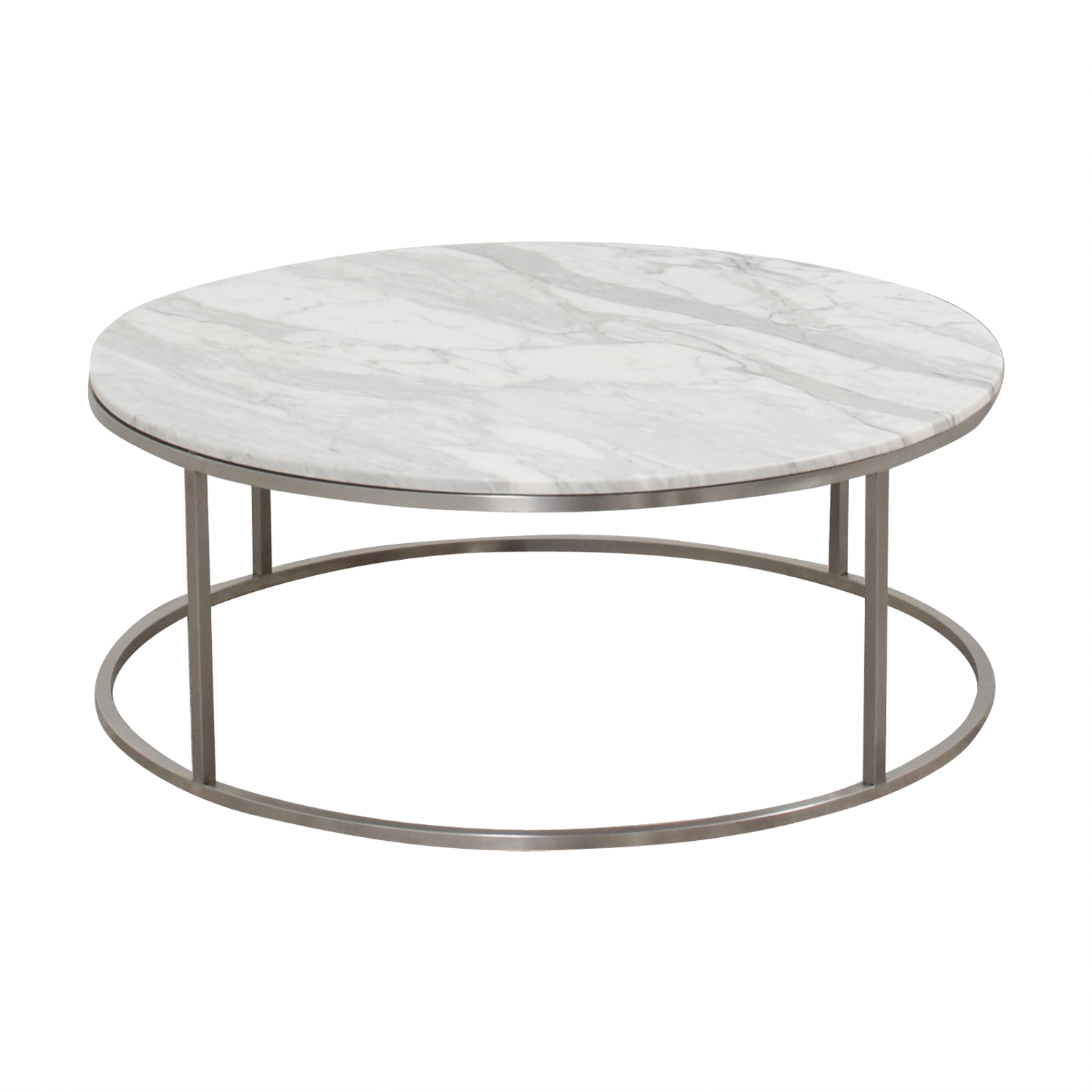 Design Within Reach Marble Round Coffee Table sale
