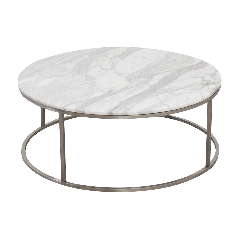 shop Design Within Reach Marble Round Coffee Table Design Within Reach Coffee Tables