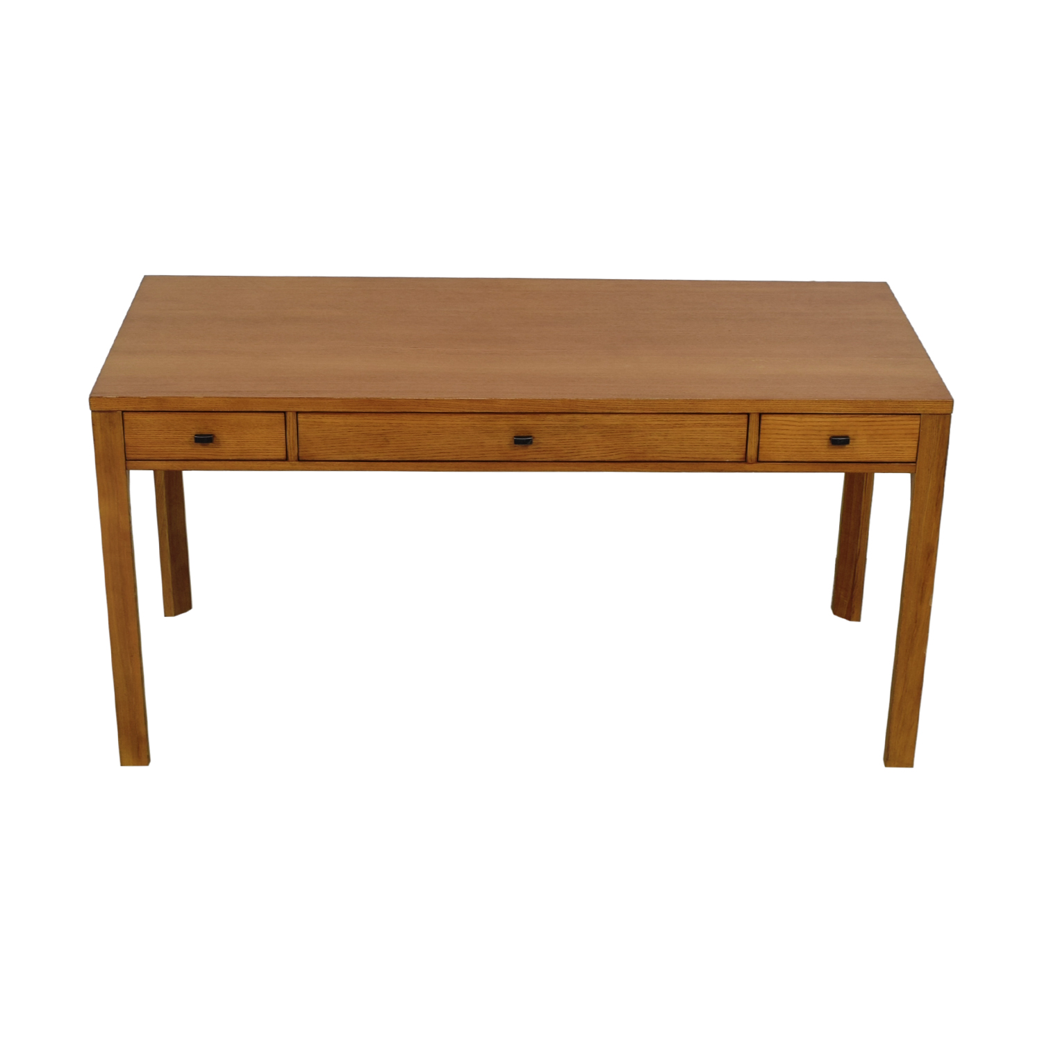 Ethan Allen Ethan Allen Three-Drawer Wood Desk price