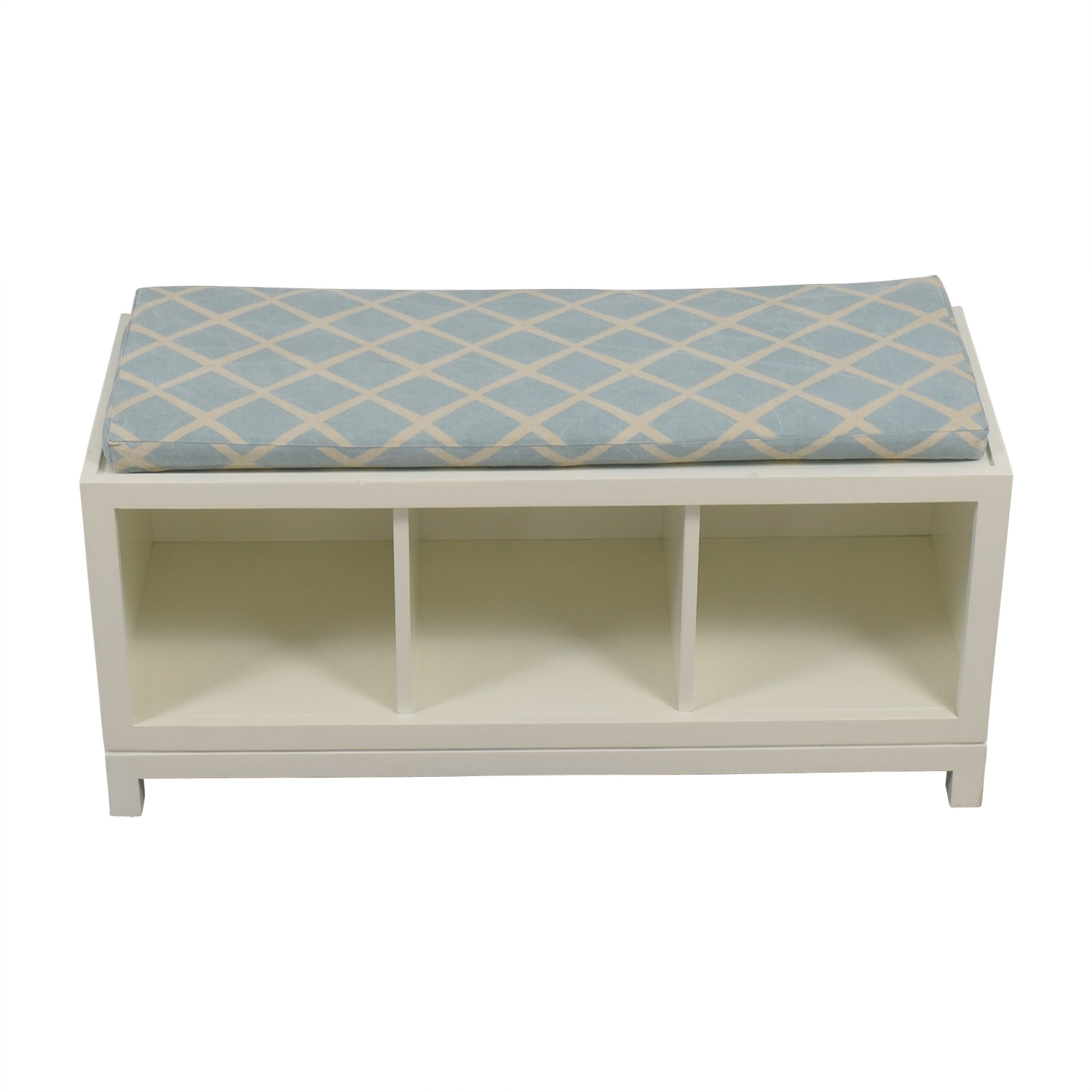 buy Serena and Lily White Storage Bench Serena and Lily Benches