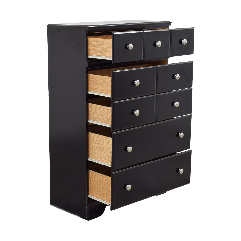 46 off ashley furniture ashley furniture shay chest of drawers storage. Black Bedroom Furniture Sets. Home Design Ideas