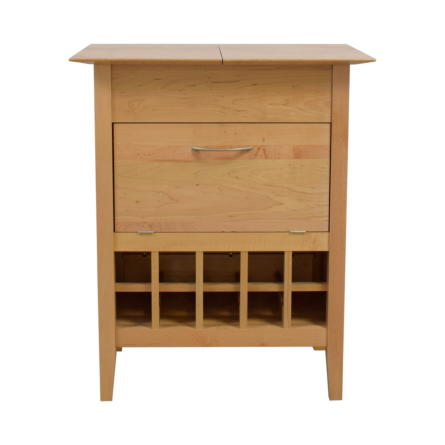 buy Crate & Barrel Natural Wine Bar Sideboard Crate & Barrel Cabinets & Sideboards