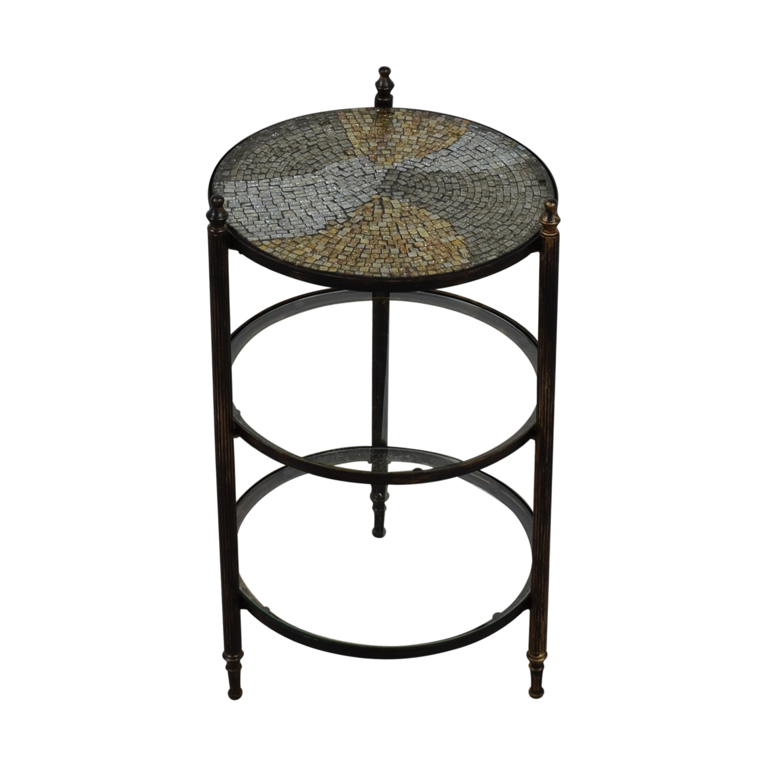 West Elm Mosaic Tiered End Table West Elm