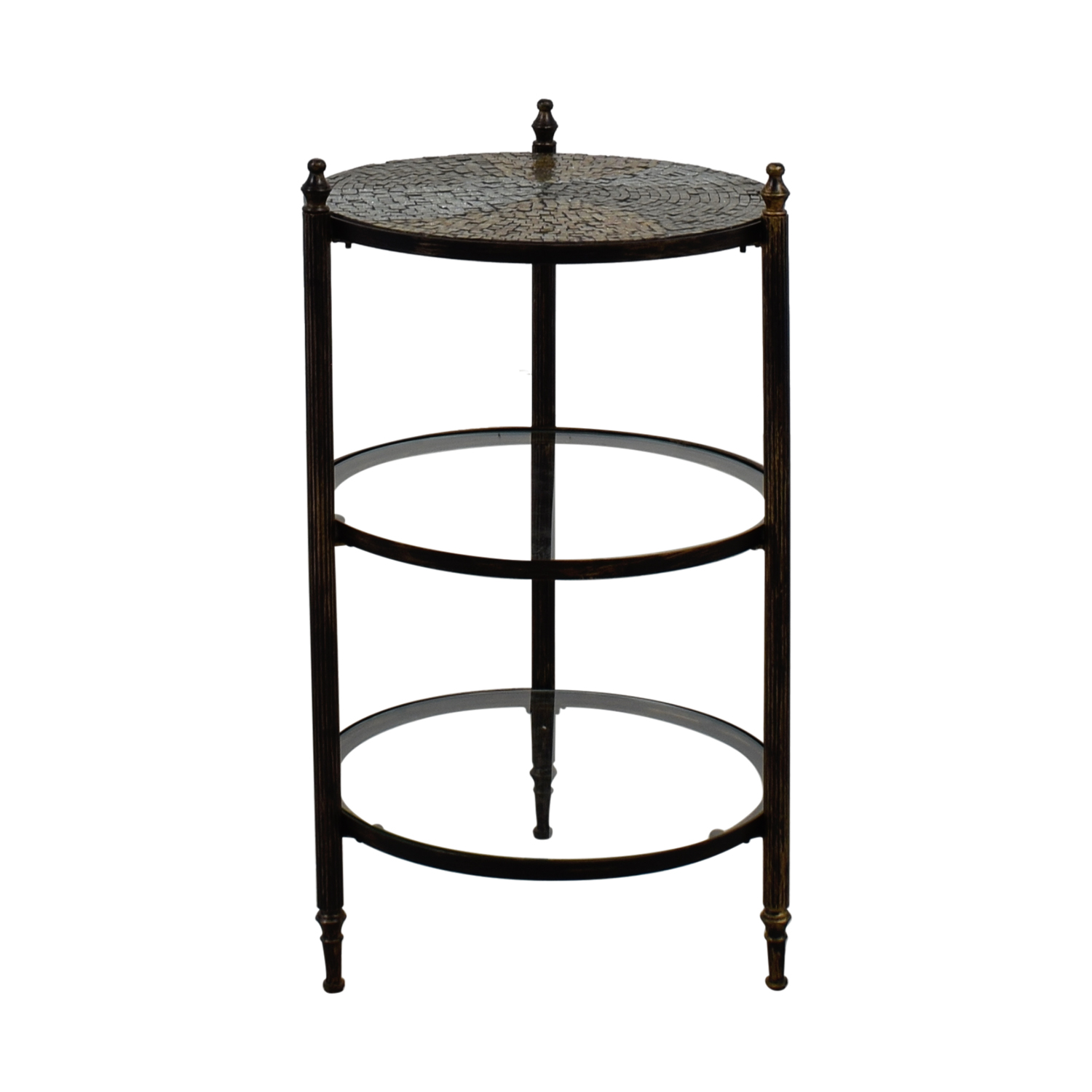 West Elm West Elm Mosaic Tiered End Table on sale