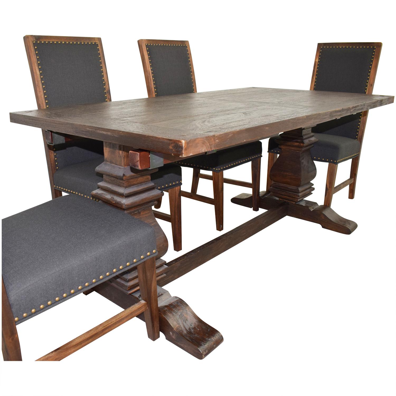 Terrific 72 Off World Market World Market Arcadia Dining Set Tables Ibusinesslaw Wood Chair Design Ideas Ibusinesslaworg