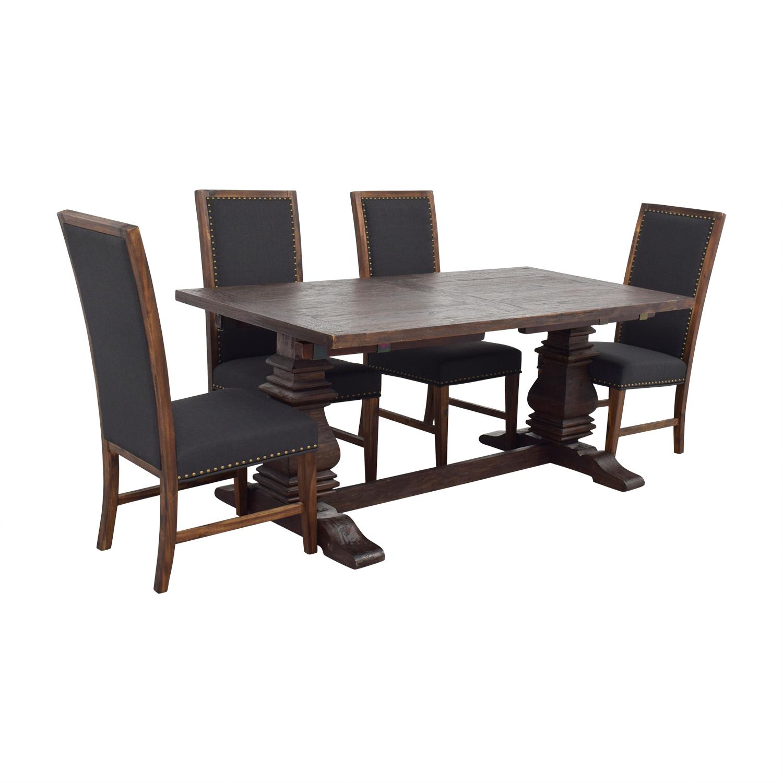 Remarkable 72 Off World Market World Market Arcadia Dining Set Tables Ibusinesslaw Wood Chair Design Ideas Ibusinesslaworg