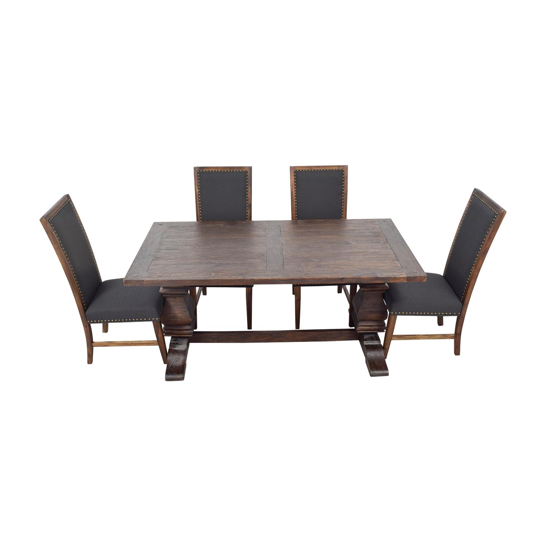 Swell 72 Off World Market World Market Arcadia Dining Set Tables Ibusinesslaw Wood Chair Design Ideas Ibusinesslaworg