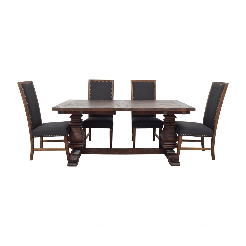 Incredible 72 Off World Market World Market Arcadia Dining Set Tables Ibusinesslaw Wood Chair Design Ideas Ibusinesslaworg