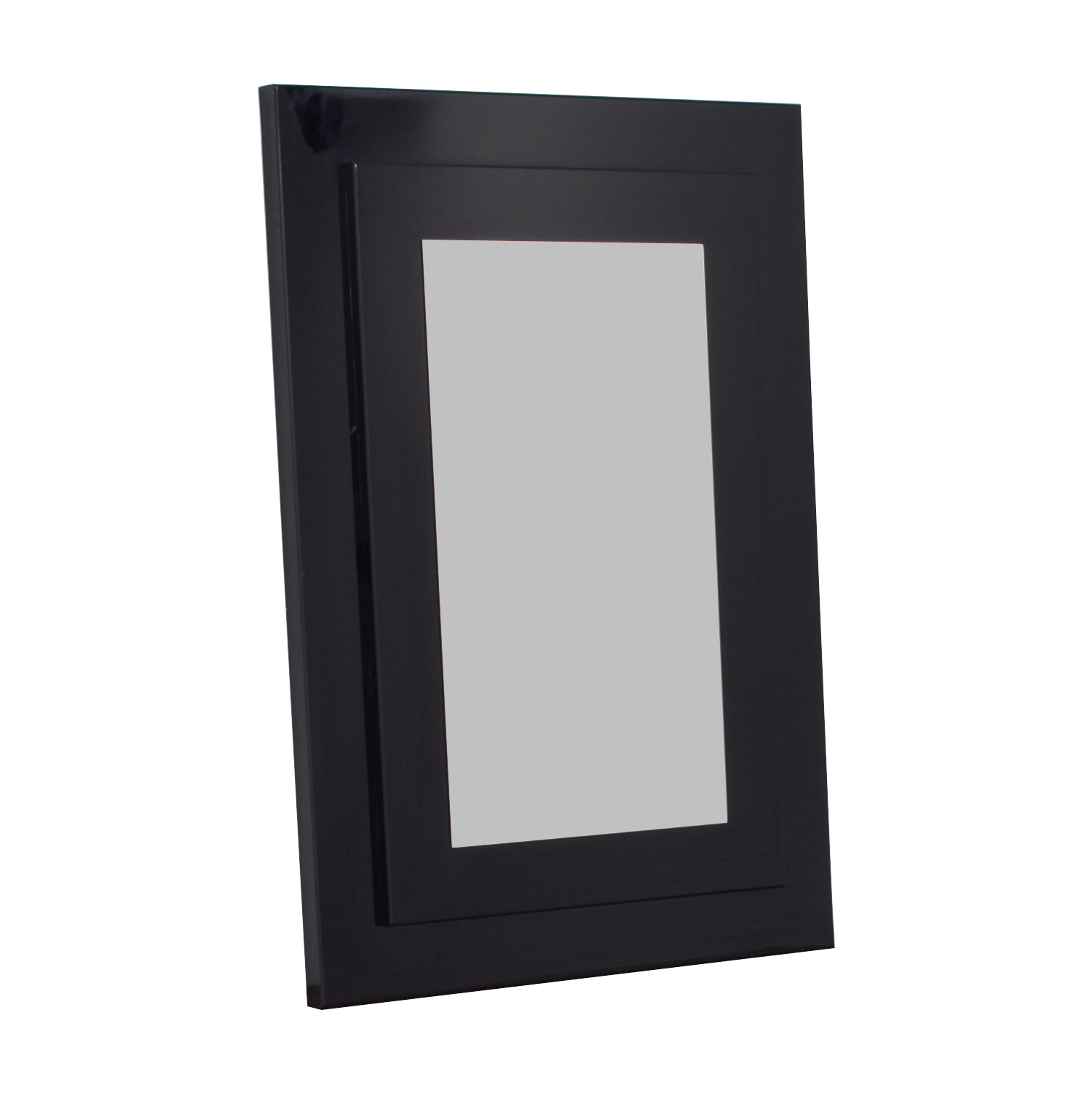 Glassworks Black Framed Wall Mirror sale