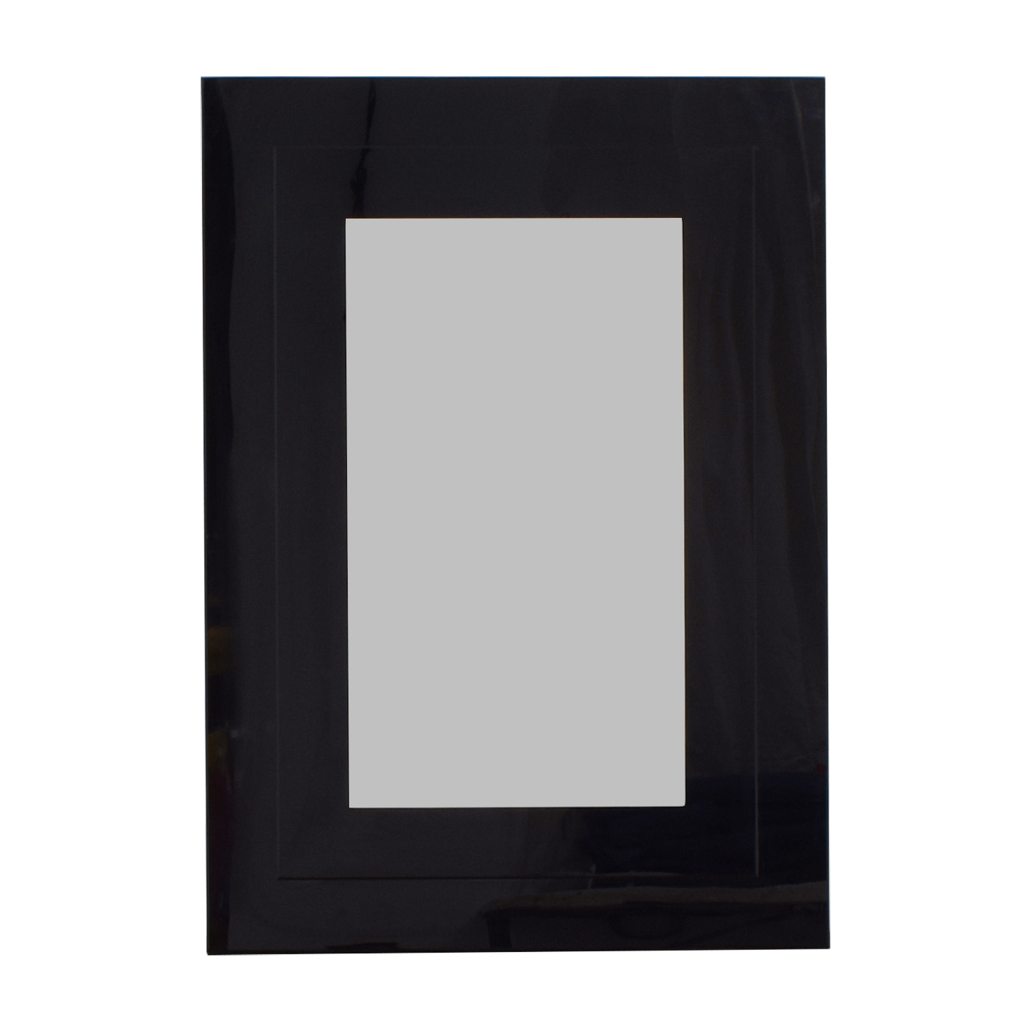 Glassworks Glassworks Black Framed Wall Mirror used