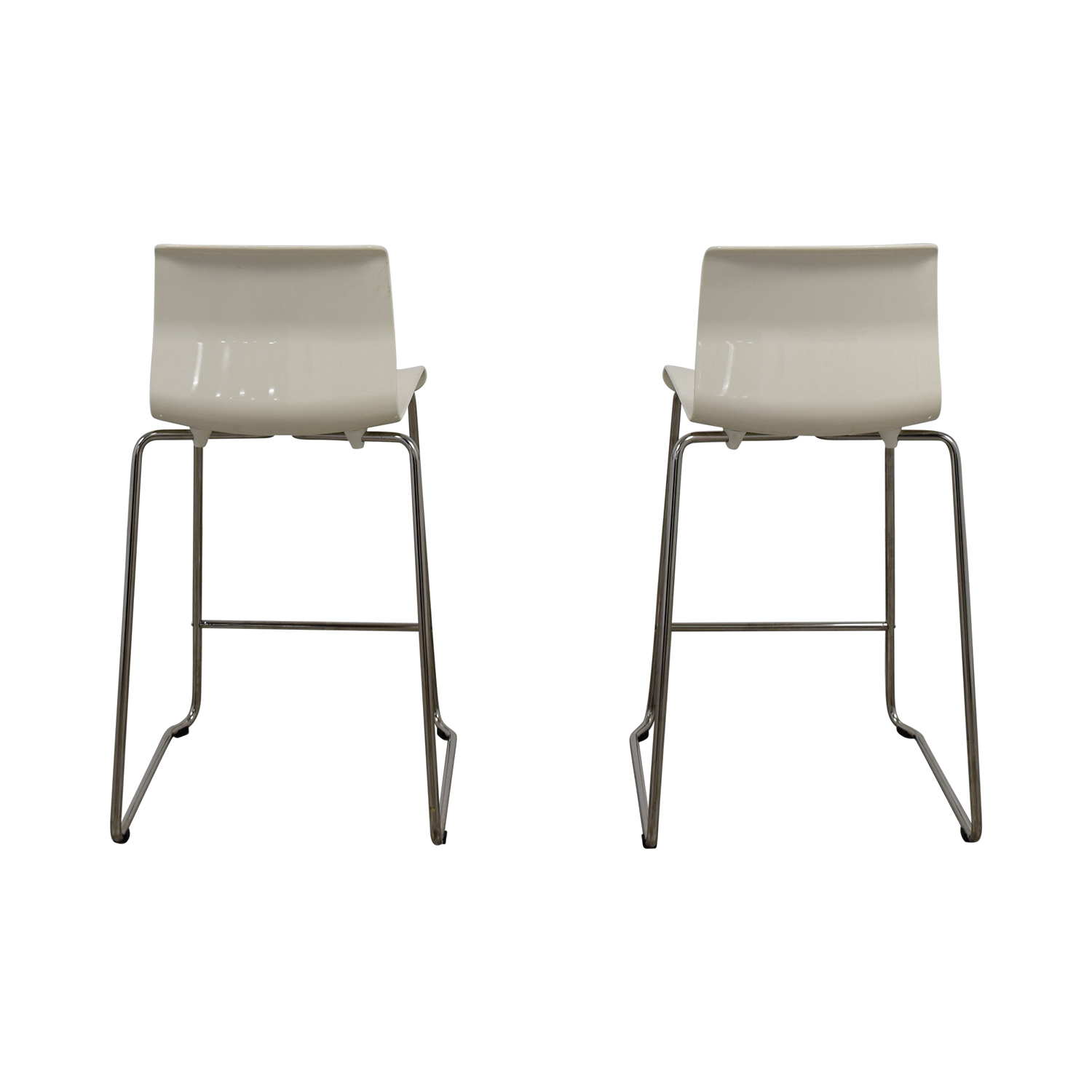 IKEA IKEA White Bar Stools used