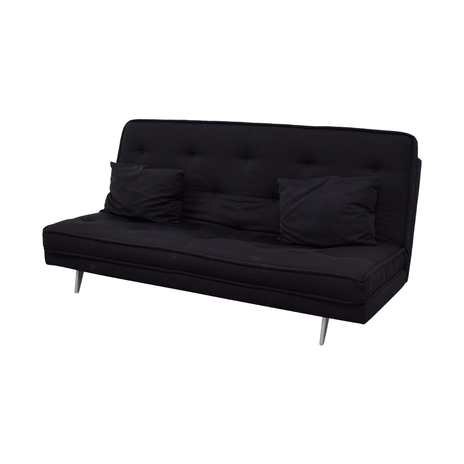 82 off ligne roset ligne roset nomade express black convertible sofa sofas. Black Bedroom Furniture Sets. Home Design Ideas