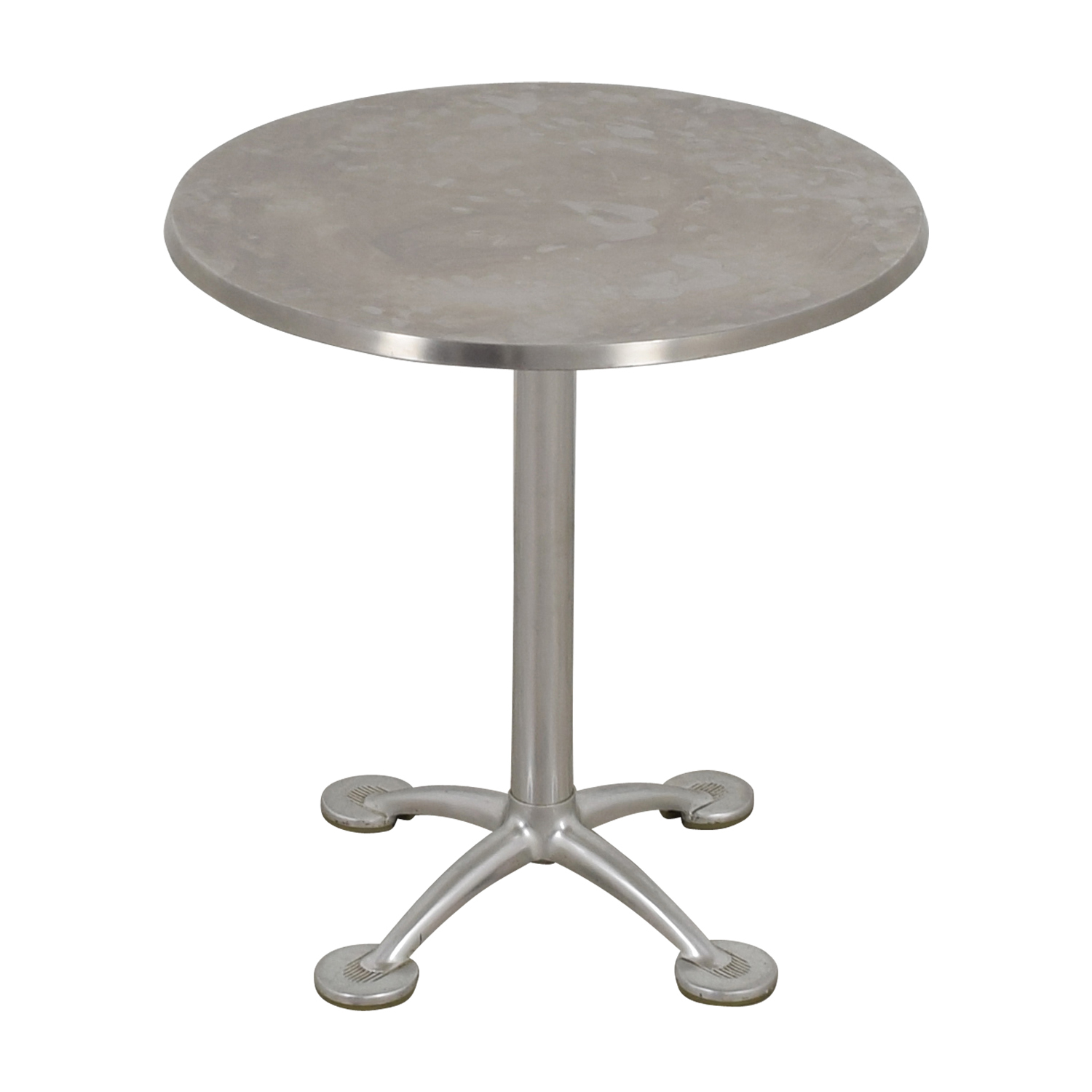 KFI KFI Chrome Round Pedestal Table nj
